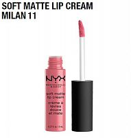Матовая помада Nyx Soft Matte Lip Cream Milan