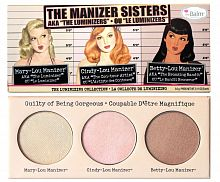Палетка The Balm Manizer Sisters Luminizer Trio