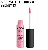 Матовая помада Nyx Soft Matte Lip Cream Sydney