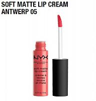 Матовая помада Nyx Soft Matte Lip Cream Antwerp