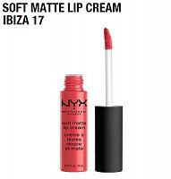 Матовая помада Nyx Soft Matte Lip Cream Ibiza